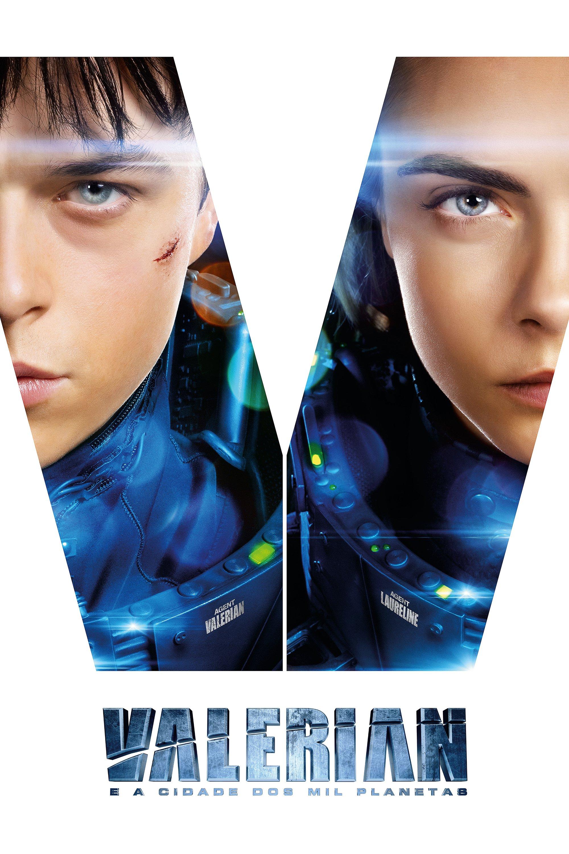 """Poster for the movie """"Valerian e a Cidade dos Mil Planetas"""""""
