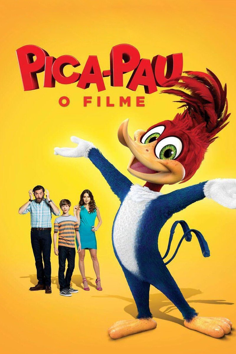 """Poster for the movie """"Pica-Pau: O Filme"""""""
