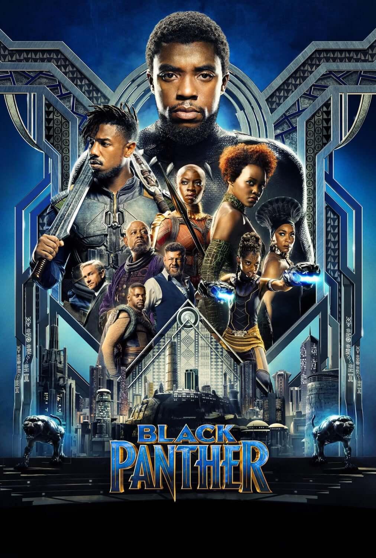 Pantera Negra Marvel 2018