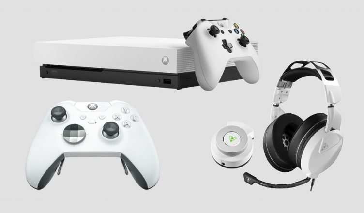 Microsoft anuncia novo design do Xbox One X e controle branco