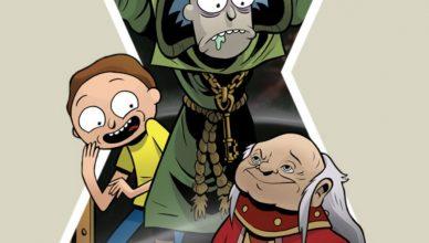 Rick and Morty vs. Dungeons & Dragons terceira edição acaba de sair pela IDW