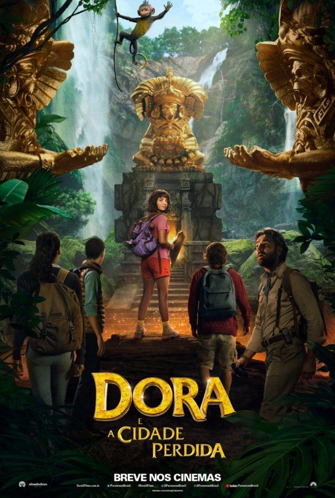 'Dora e a Cidade Perdida' / Foto reprodução Paramount Pictures
