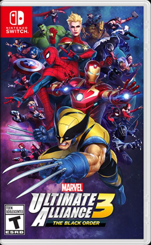 Capa Marvel Ultimate Alliance 3 - Nintendo Switch