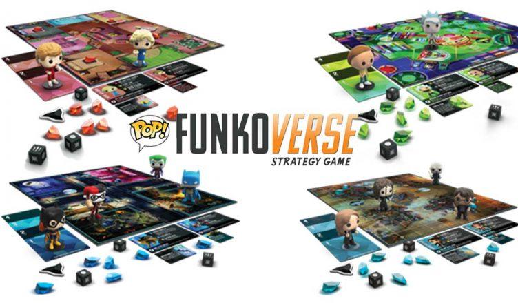 Funko revela seu jogo de tabuleiro Funkoverso na SDCC 2019
