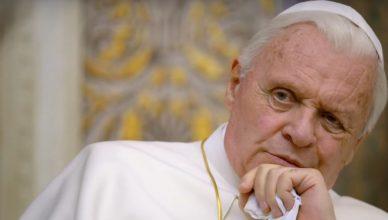 Dois Papas traz Anthony Hopkins na pele de Bento XVI