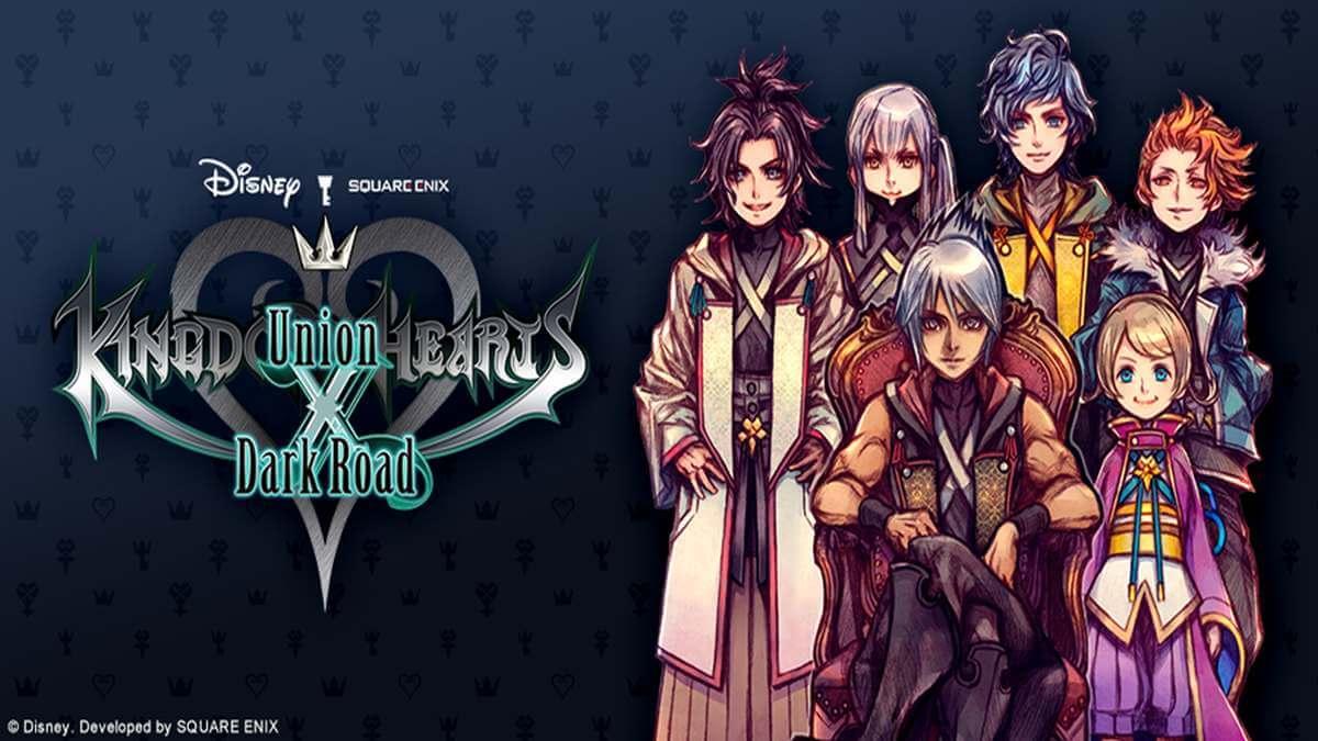 Kingdom Hearts Dark Road Lancado Para Smartphones