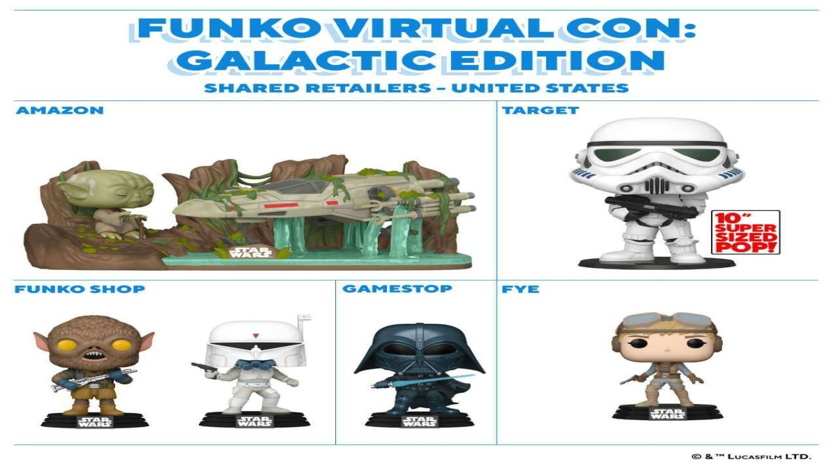unko Star Wars 2020 é lançado durante evento virtual