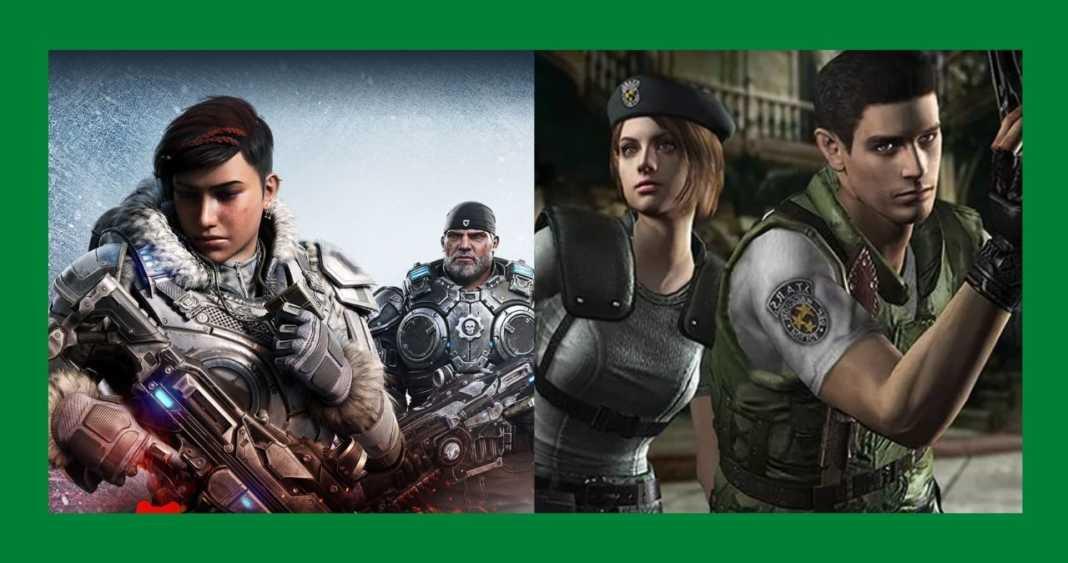 Gears 5 e Resident Evil são destaques no Games with Gold de fevereiro