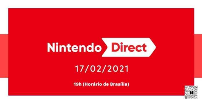 Nintendo Direct terá 50 minutos de duração