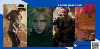 PS Plus Março, ffvii destaque do mês