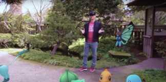 Pokemon Go HoloLens ganha demo em realidade virtual